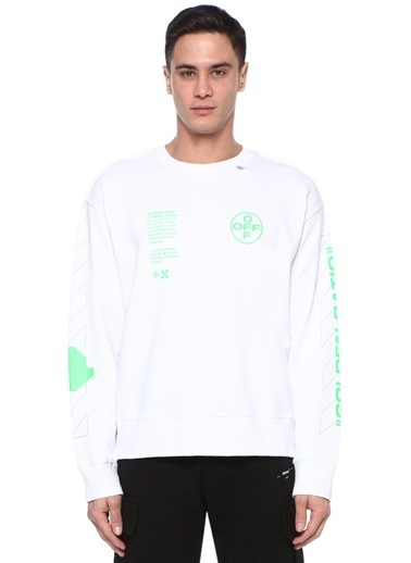 Off-White Sweatshirt Beyaz